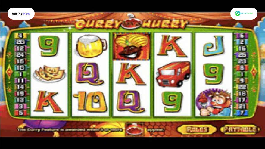 Spielautomat Curry in a Hurry Microgaming Bild