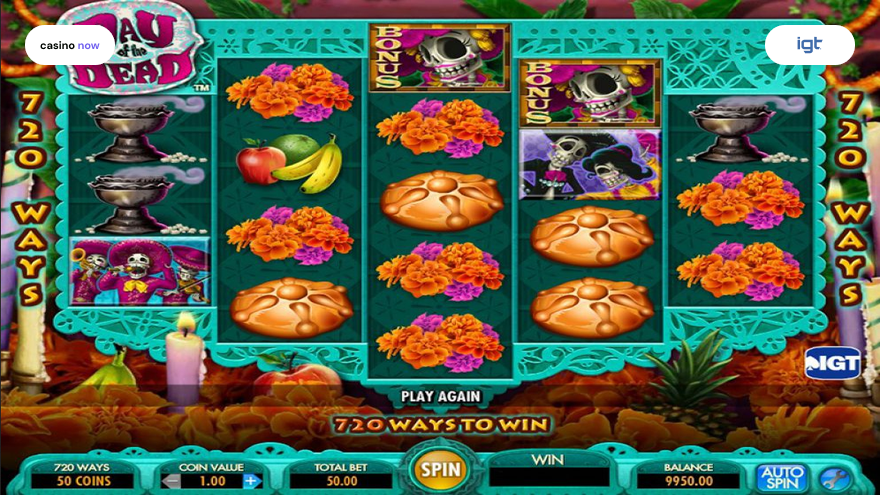 Spielautomat Day of the Dead IGT (WagerWorks) Bild