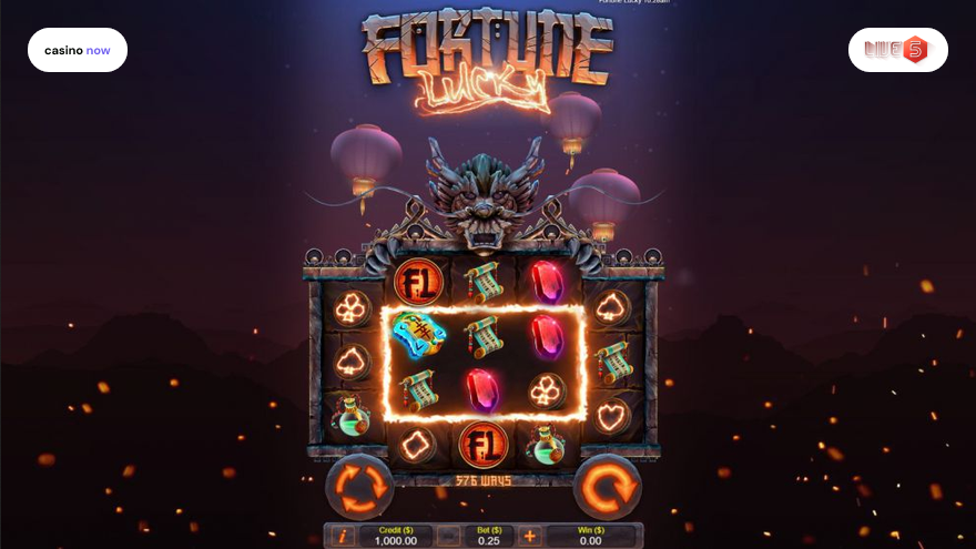 Spielautomat Fortune Lucky Live 5 Gaming Bild