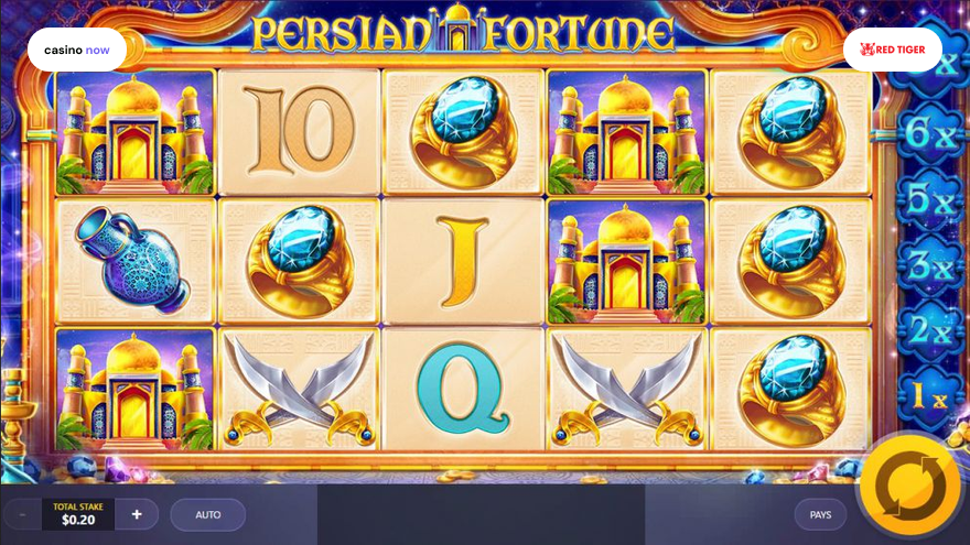 Spielautomat Persian Fortune Red Tiger Gaming Bild