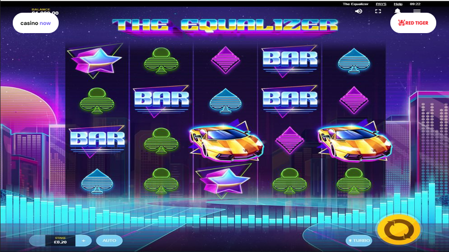 Spielautomat The Equalizer Red Tiger Gaming Bild